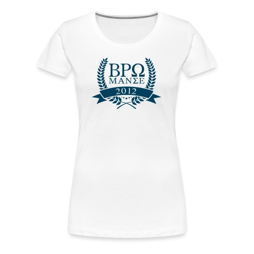BromanceWG 2012 (Greek) - Frauen Premium T-Shirt