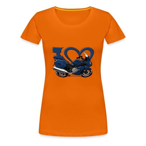 I love FJR - Vrouwen Premium T-shirt