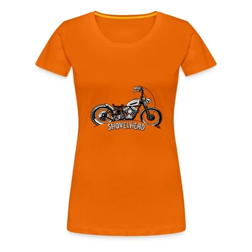 0917 chopper shovelhead - Vrouwen Premium T-shirt