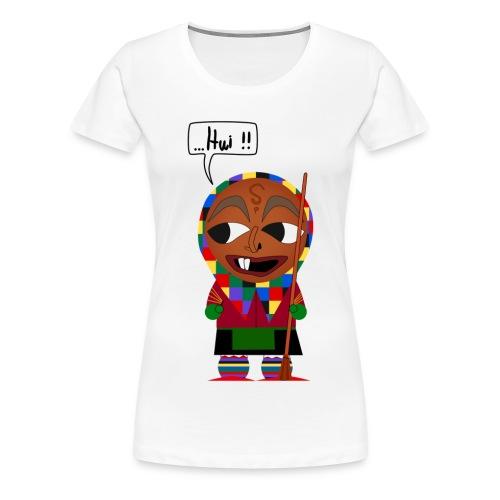 Eckhex Pullover - Frauen Premium T-Shirt