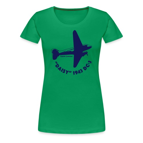 Daisy Flyover 1 - Premium-T-shirt dam