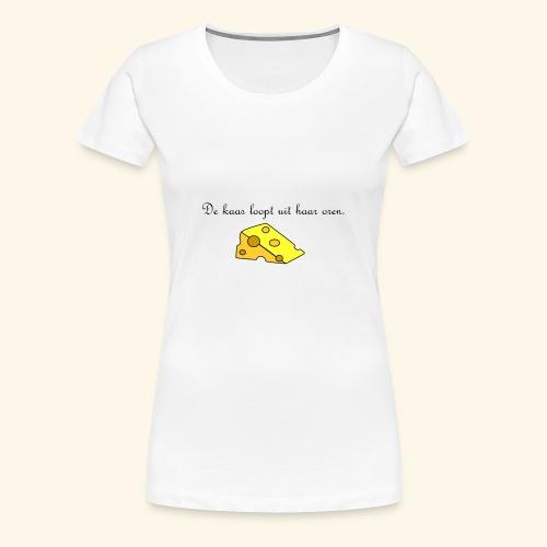 Kaas loopt uit haar oren - Temptation - Vrouwen Premium T-shirt