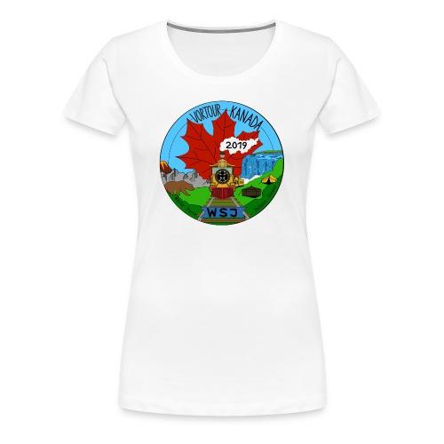 Vortour Kanada - Frauen Premium T-Shirt