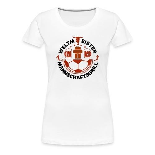 FUSSBALL MANNSCHAFTSGRILL v2SB - Frauen Premium T-Shirt