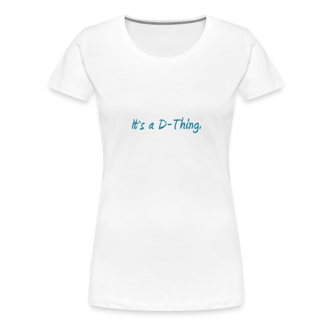 DTWear - It`s a D-Thing - Blue / Blauw