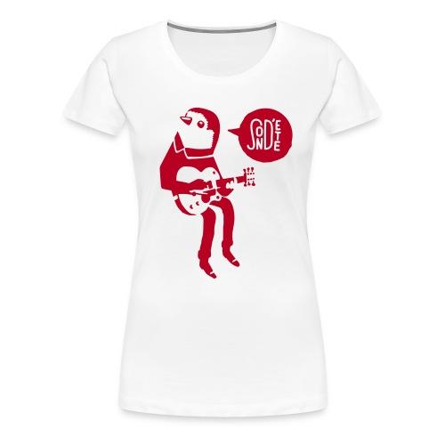 Le son d'été birdy jam 2016 (Bag) - Frauen Premium T-Shirt