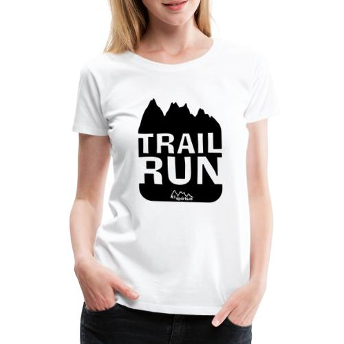 Trail Run - Frauen Premium T-Shirt