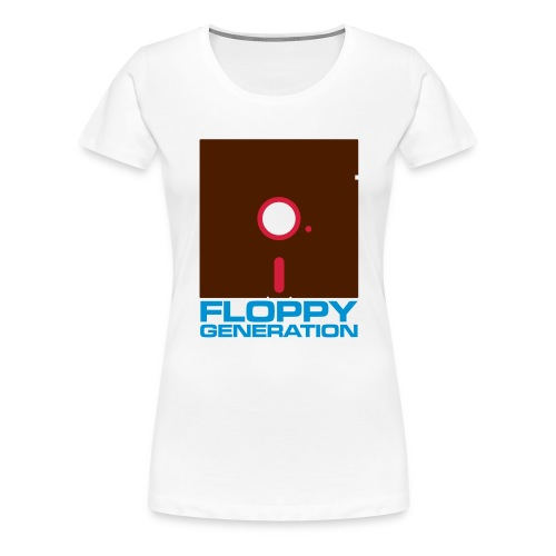 Floppy Generation 3c - Women's Premium T-Shirt