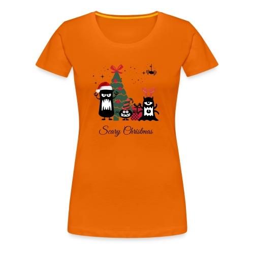 Noël effrayant - Scary Christmas - T-shirt Premium Femme