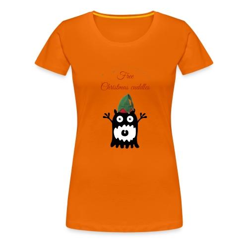 Calins de Noël - Christmas cuddels - T-shirt Premium Femme