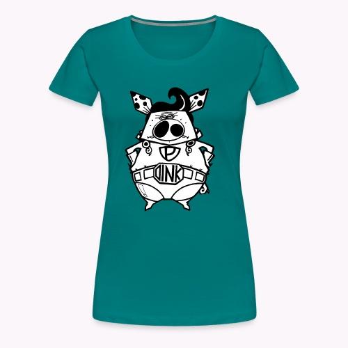 super oink - Maglietta Premium da donna