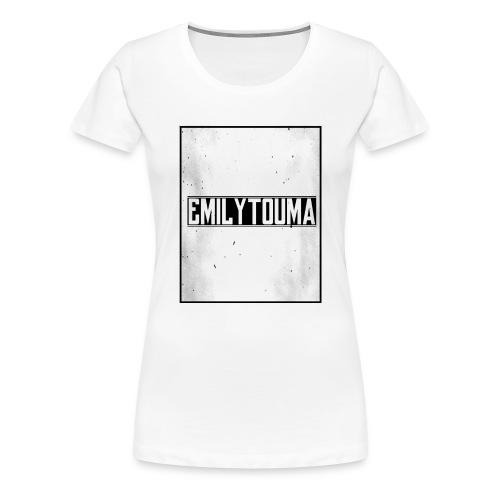 emilytouma desgin groot 5000 4000 png - Vrouwen Premium T-shirt