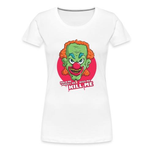 Clown - Koszulka damska Premium