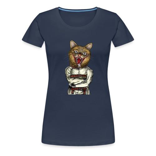 Crazy Cat - T-shirt Premium Femme