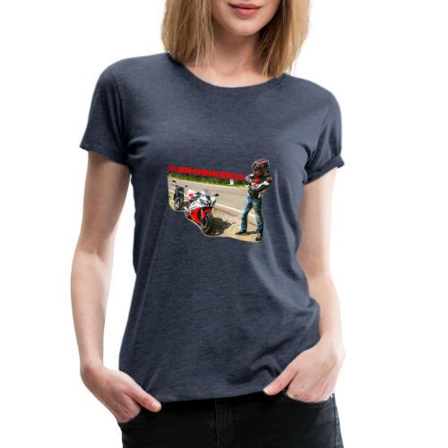 Brobikerss - Maglietta Premium da donna