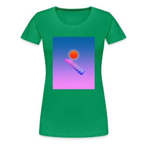 ESCALIER AU CIEL - T-shirt Premium Femme