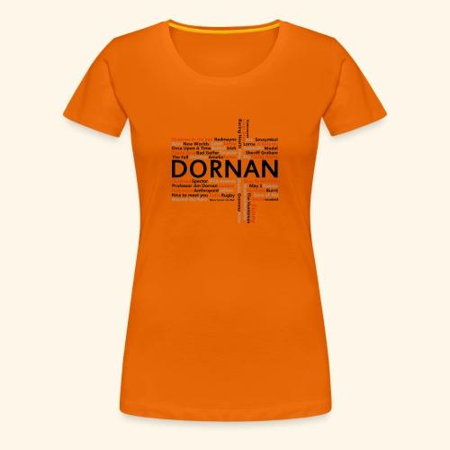 JD Facts - Women's Premium T-Shirt