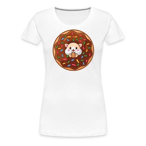 Donut Hamster - Frauen Premium T-Shirt