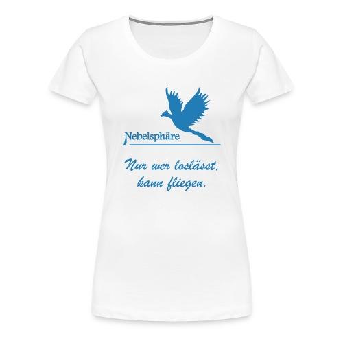 Phönix T Shirt loslassen svg - Frauen Premium T-Shirt