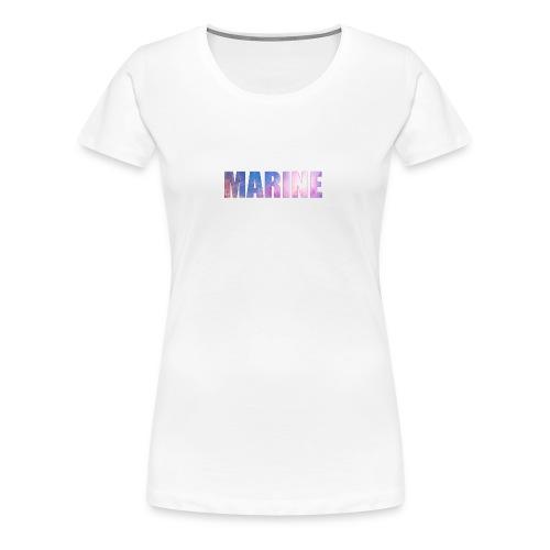 Marine Space - Dame premium T-shirt