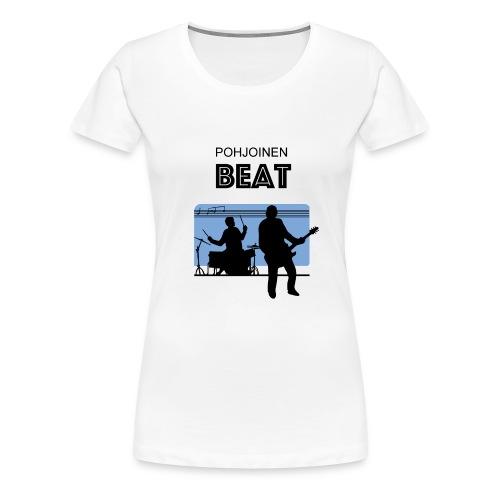 beat-3 - Naisten premium t-paita