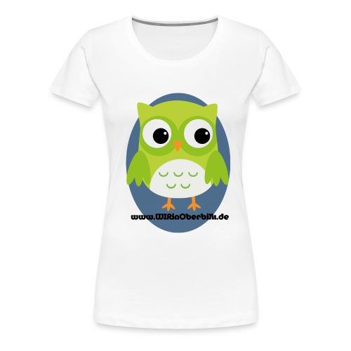 Eule one - Frauen Premium T-Shirt