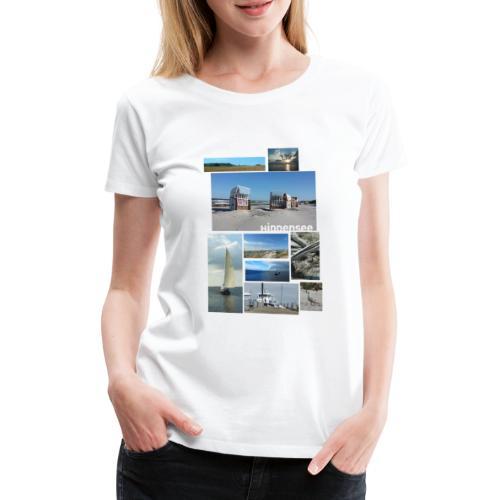 Hiddenseecollage Farbe - Frauen Premium T-Shirt
