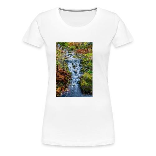 Cascada - Camiseta premium mujer