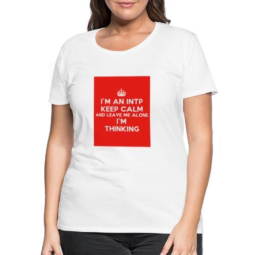 KEEP CALM 2 - Koszulka damska Premium