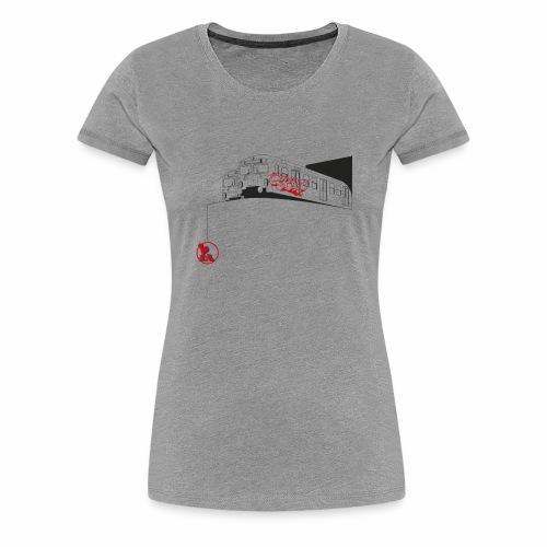 2wear Trains ver01 - Dame premium T-shirt
