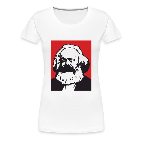 Karl Marx - Maglietta Premium da donna