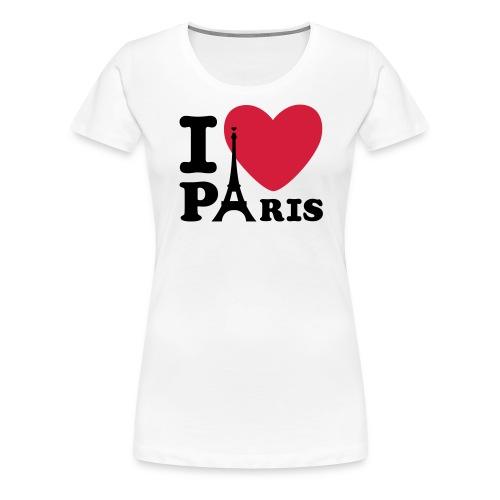 I Love Paris 6 - T-shirt Premium Femme