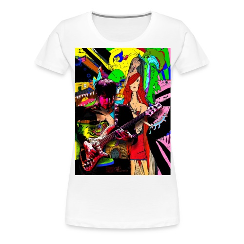 Rock On - Frauen Premium T-Shirt