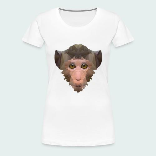Polygon Monkey - Women's Premium T-Shirt