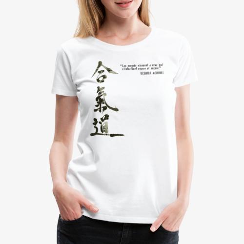 AIKIDO TEE SHIRT - T-shirt Premium Femme