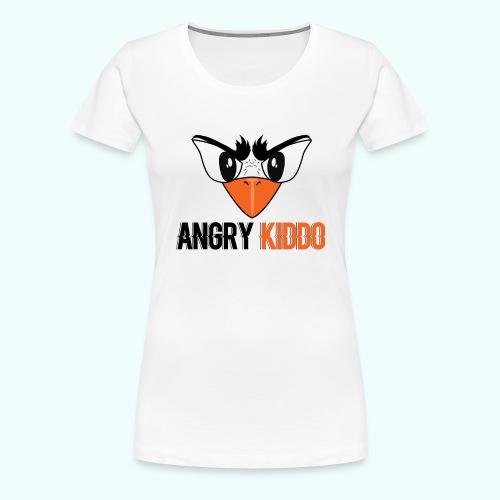 Angrykiddo - T-shirt Premium Femme