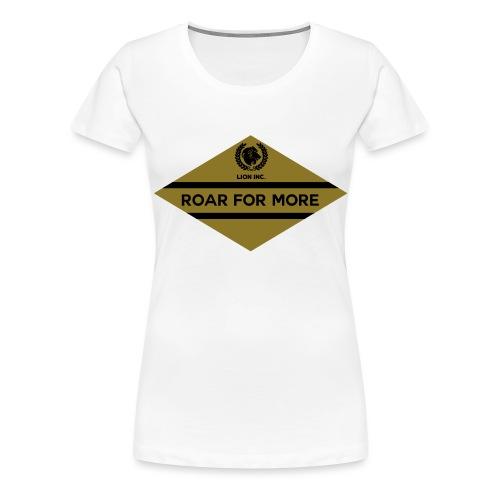 Lion Inc. - Vrouwen Premium T-shirt