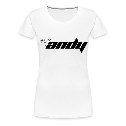 Andy t-shirt - Premium T-skjorte for kvinner