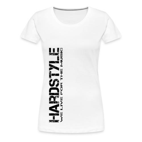 HARDSYTLE4 png - Frauen Premium T-Shirt