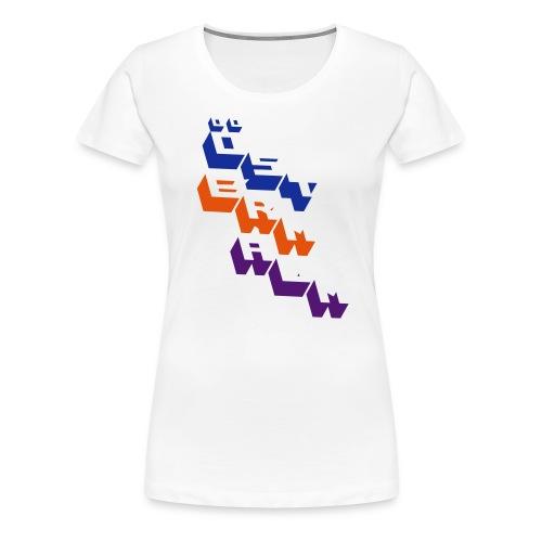 oestermalm block - Premium-T-shirt dam