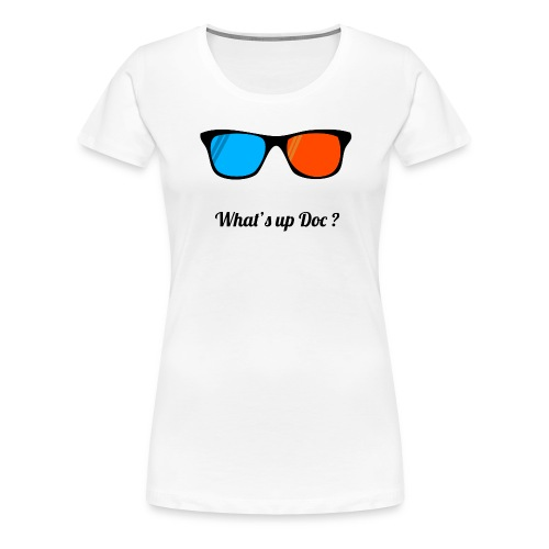 lunettes png - T-shirt Premium Femme