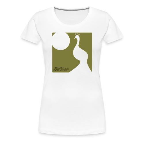 Theater Logo Pfau - Frauen Premium T-Shirt