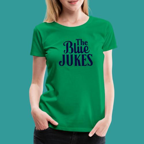 The Blue Jukes Logo - Women's Premium T-Shirt