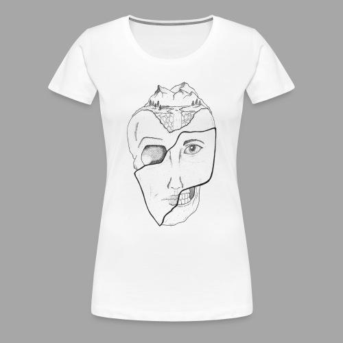 Voyageur Immobile - La valse à mille points - T-shirt Premium Femme
