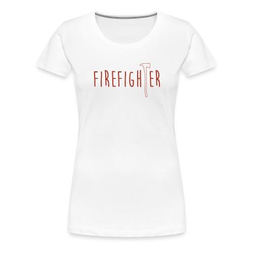 Firefighter Axt - Rot - Frauen Premium T-Shirt