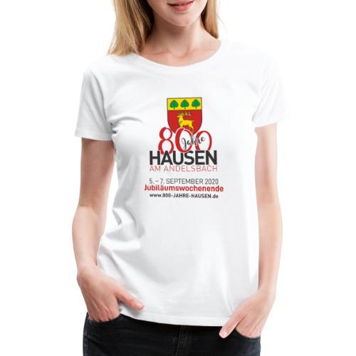 Jubiläum WEISS - Frauen Premium T-Shirt