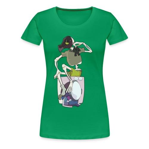 Shirk Laundry EP Shirt - Womens - Women's Premium T-Shirt
