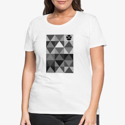|K·CLOTHES| TRIANGULAR ESSENCE - Camiseta premium mujer