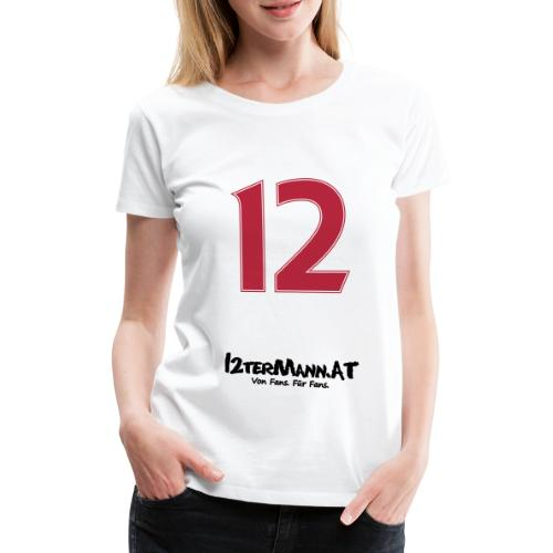 12termann mitfans - Frauen Premium T-Shirt