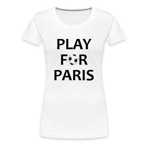 Football Shirt Play for Paris retro - Women's Premium T-Shirt